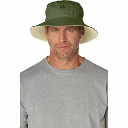 Coolibar UPF 50+ Men's Women's Reversible Bucket Hat