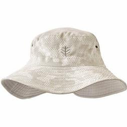 Coolibar UPF 50+ Men's Women's Landon Reversible Bucket Hat