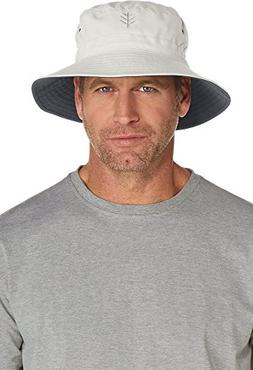 Coolibar UPF 50+ Men's Reversible Bucket Hat - Sun Protectiv