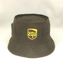 UPS Bucket Hat Decky Fisherman's Cap United Parcel Service B