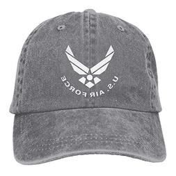 Jiuyuan Us Air Force USAF Low Profile Plain Baseball Cap Was
