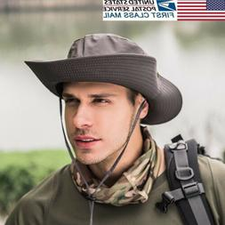 US Bucket Hat Boonie Hunting Fishing Outdoor Cap Wide Brim M