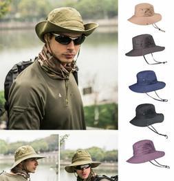 US! Bucket Hat Hunting Fishing Outdoor Cap Wide Brim Militar