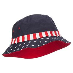USA Flag Bucket Hat - Flag L