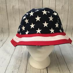 USA Stars Stripes America Bucket Beach Summer Hat KBEthos NW