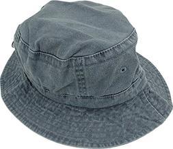 Adams Vacationer Crushable Bucket Hat VA101 - Navy_L