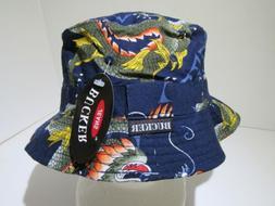 Vintage Mega USA Bucker New York Bucket Deadstock Hat Cap S/