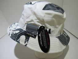 Vintage Mega USA Bucker New York White Deadstock Bucket Cap