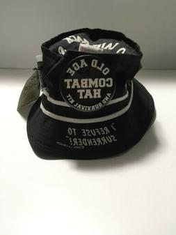 Vintage Old Age Combat Laidback BUCKET HAT CAP Oldtimers Sur