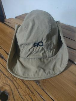 Vintage Outdoor Research OR Sun Bucket Beige Outdoors Shade