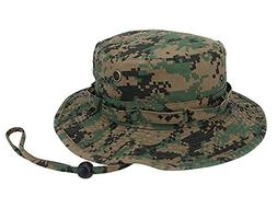 TOP HEADWEAR Washed Camouflage Twill Hunting Hat - Woodland