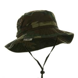 Washed Hunting Fishing Outdoor Hat-Camo W11S41D XL-2XL