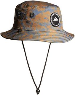 Quiksilver Waterman Men's Stay Cool Bucket Hat, camo, S/M
