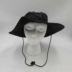 Frogg Toggs Waterproof Breathable Boonie Hat, Black, Adjusta