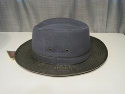 Dorfman Pacific Weathered cotton gambler Hat Size XL