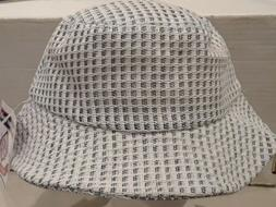 White Bucket Hat Cap West Coast Novelty Quality Headwear Siz