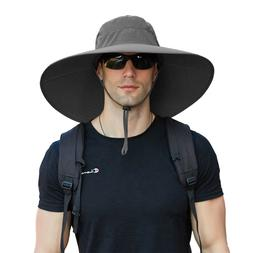 Wide Brim Bucket Hats for Hiking Fishing Sun Protection 50+U