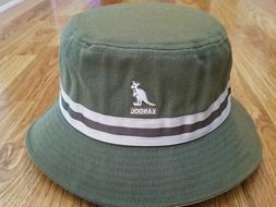 Winter Moss  KANGOL  Stripe LaHinch  Bucket Hat  Style  K401