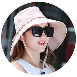 Women Bowknot Sun Hat Design Summer Beach Fisherman Hats Ant