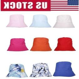 Women Men Camping Cap Bucket Hat Brim Fishing Visor Sun Hunt