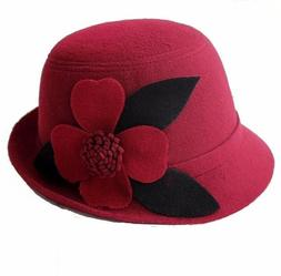women s fedora bucket dome w four