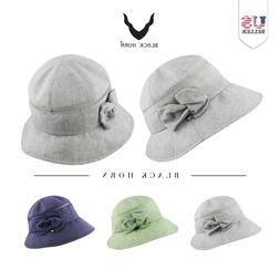 Women's Packable Summer Sun Beach Mesh Bucket Hat