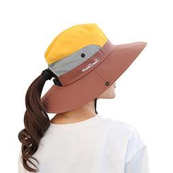 Muryobao Women's Summer Sun Hat Outdoor UV Protection Foldab