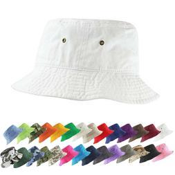 Packable Cotton Summer Bucket Hat Safari Bonnie Bush Fishing