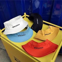 Women Summer Novelty Bucket Hats Colorful Bucket Visor Stree