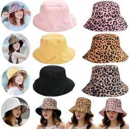 Womens Bucket Boonie Hat Safari Cap Summer Outdoor Wide Brim