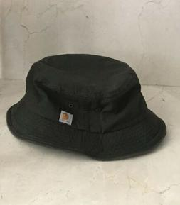 Carhartt Womens Green Cotton Bucket Sun Hat M/L
