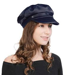 Womens Newsboy Cap Baker Berets Fisherman Conductor Greek Ha