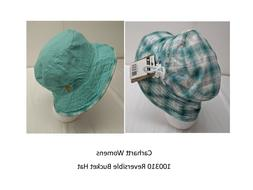 Carhartt Womens Plaid Reversible Bucket Hat     Free ship in