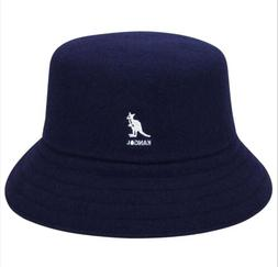 KANGOL Wool Lahinch Bucket Hat NAVY Style K3191ST