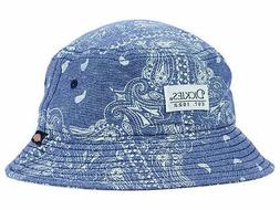 Dickies Work Wear Blue Paisley Print Bucket Style Fishing Ca