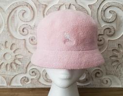 WOW! KANGOL BERMUDA CLOCHE BUCKET HAT * PINK * 3483BC03 * NE
