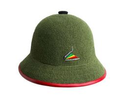Kangol X Rockers Int'l Bermuda Casual Green Black Red Buck