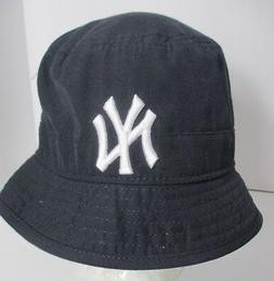 Yankees Hat Cap Bucket New York NY Womens Small MLB Youth La