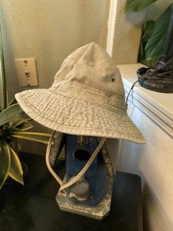 DORFMAN PACIFIC Youth L/XL Khaki Tan Outdoor Bucket Hat